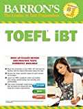 img - for Barron's TOEFL iBT with MP3 audio CDs 15th Edition book / textbook / text book