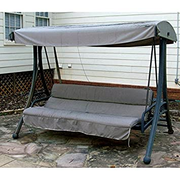 Curved Roof Futon Swing Replacement Canopy