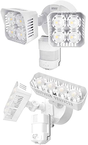 SANSI Outdoor LED Motion Sensor Security Light, 36W 3600lm Bright Daylight IP65 Waterproof Outdoor Floodlight, ETL Listed