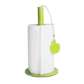 Balvi - Apple Soporte para Papel de Cocina. Admite Rollos de Papel Extra Grandes.: Amazon.es: Hogar