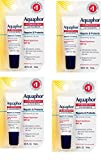 Aquaphor Lip Protectant and Sunscreen Ointment - Broad Spectrum SPF 30 - Relieves Chapped Lips.35 fl. Oz. Tube, 4 Pack