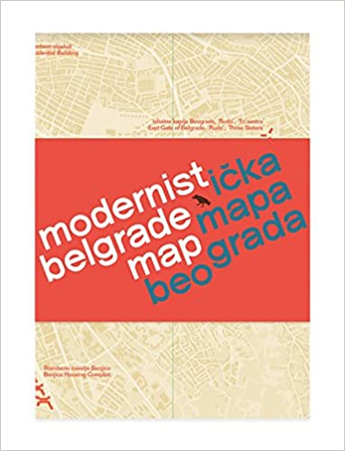 online mapa beograda Buy Modernist Belgrade Map: Modernisticka Mapa Beograda Book  online mapa beograda