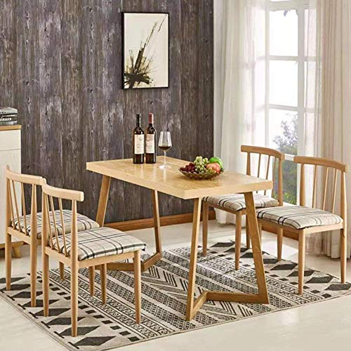 Solid Wood Dining Table Fashion Coffee Desks Kitchen for sale  Delivered anywhere in USA