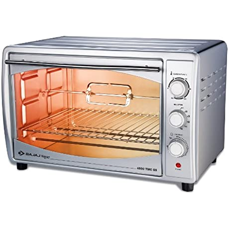 Bajaj Majesty 4500 Tmcss 45 Litre Oven Toaster Grill