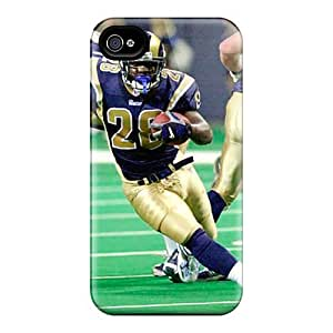 KennethKaczmarek Iphone 4/4s Shock-Absorbing Hard Cell-phone Cases Allow Personal Design Vivid St. Louis Rams Series [REF675ixPy]