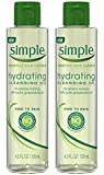 Simple Cleansing Oil Hydrating 4.2 Ounce (125ml) (2 Pack)