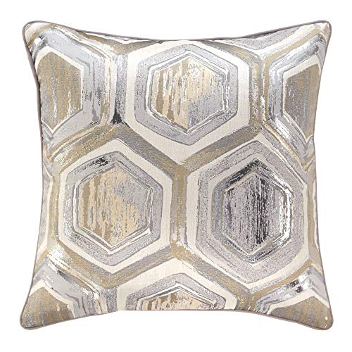 (Signature Design by Ashley Meiling Throw Pillow, Metallic)