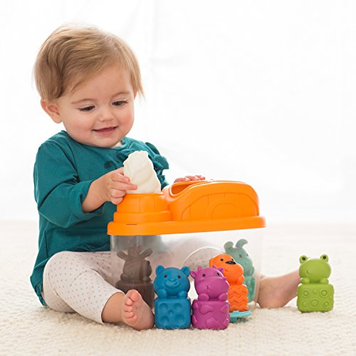 Infantino Animals and Shapes Sorting Barn Bin by Infantino (Image #2)