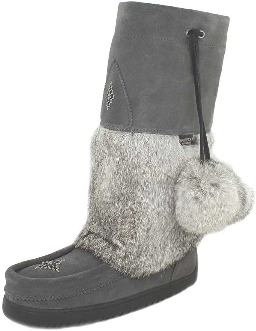 Manitobah Womens Snowy Owl Waterproof Mukluk Winter Boot