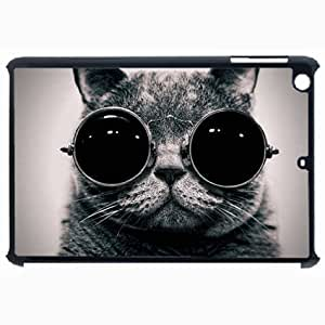 Customized Back Cover Case For iPad Air 5 Hardshell Case, Black Back Cover Design Goggles Personalized Unique Case For iPad Air 5