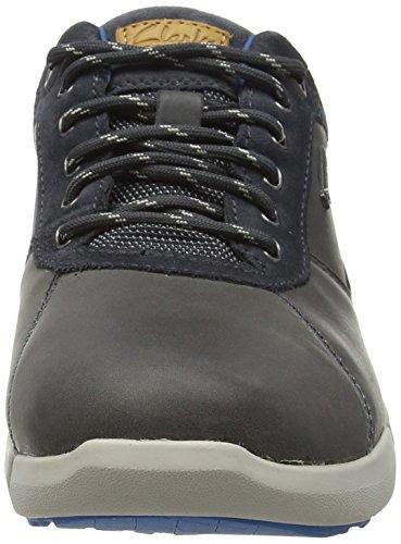 Clarks Triman Lo GTX, Stivaletti Uomo Grigio (Grey Leather)