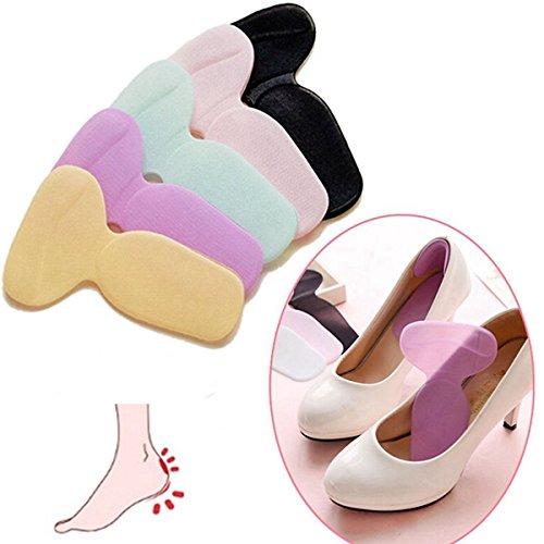 Soft Silicone High Heel Cushion Shoe Insert Dance Insole ...