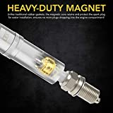 "LEXIVON 5/8"" Swivel Magnetic Spark Plug"