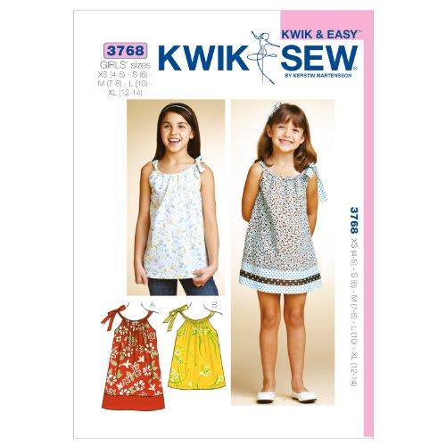 Kwik Sew K3768 Dress and Tunic Sewing Pattern, Size XS-S-M-L-XL by KWIK-SEW PATTERNS