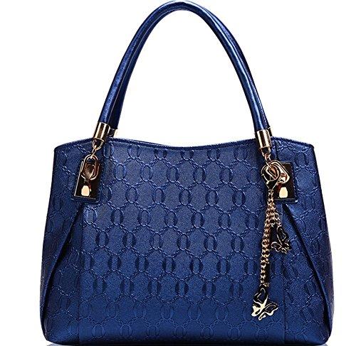 Sacs Sac Main D'Or 3 Sets Bleu À Minetom Femmes Pu À Fourre Bandoulière Cuir Tout Vintage qxSSpX