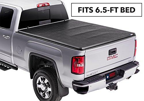 American Tonneau Company 66110 Soft Tri-fold Tonneau Cover - fits Silverado/Sierra 2014-18 (6 1/2 ft bed)