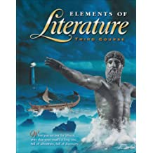 Holt Elements of Literature: Student Edition, Third Course, Grade 9, 2000