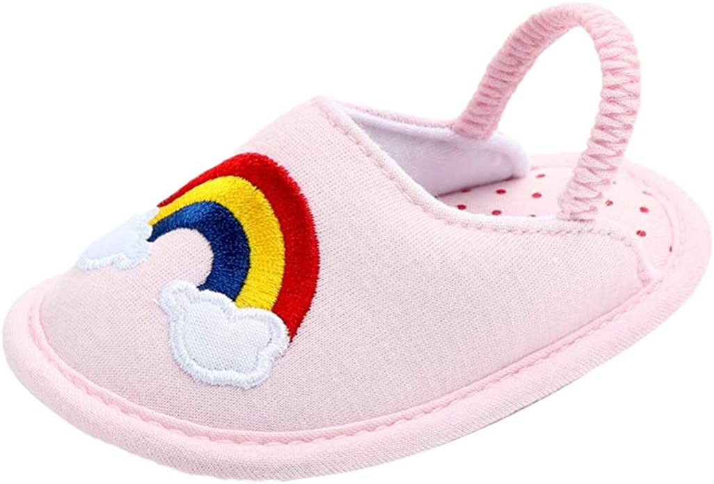 Miyanuby Zapatos Bebe - Suela Blanda Antideslizante Algodón ...