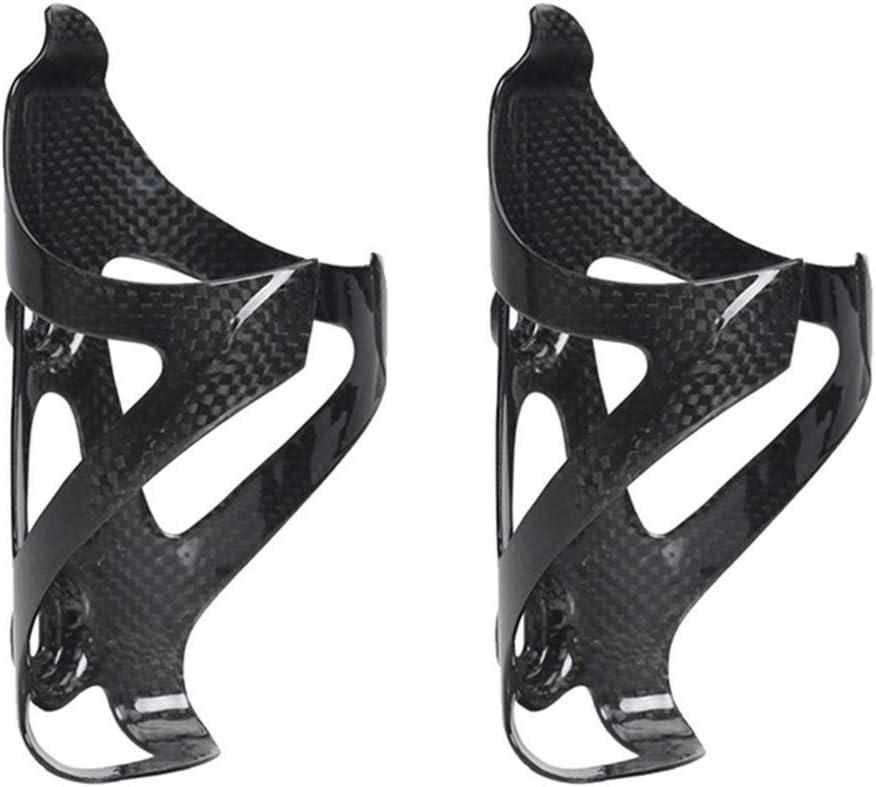 Portabidón Completo De Bicicleta De Fibra De Carbono 3K, Porta Botellas De Bicicleta Ultraligeras Y Duraderas, Adecuado para Bicicletas De Montaña, Bicicletas De Carretera