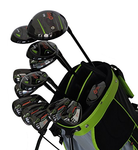 droc - Nikki Series 13 Pieces Golf Club Set & Golf Bag Ages 11-14 Right Handed ()