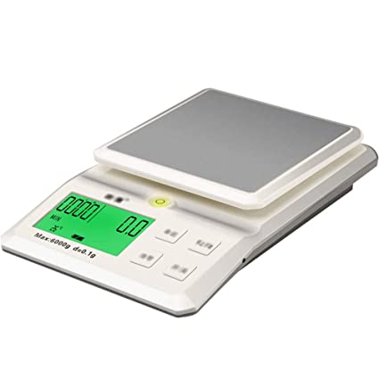 06e1ac749886 Amazon.com: DDSS Kitchen scales - Stainless steel/ABS, LCD large ...