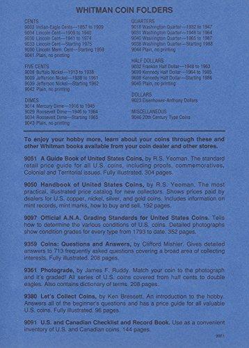 Amazon.com: UPC 9 780307 09023 EISENHOWER ANTHONY DOLLAR 1971-1981 Whitman 9023 ALBUM #17: Toys & Games
