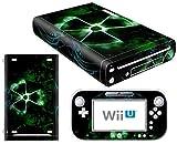 CSBC Skins Nintendo Wii U Design Foils Faceplate Set - Nuclear 2 Design