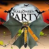 Magic Toys for Kids, Funny Prank Flutter Card Flying Paper Bats Halloween Magic Bat Props Card Gift...