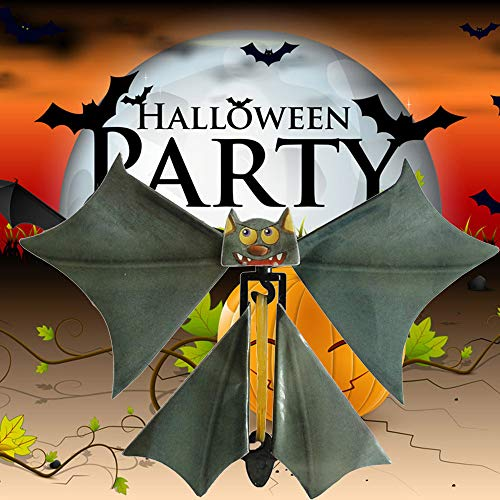 Magic Flying Bat Flutter Card Prank Flying Paper Bats Funny Halloween Card -