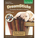 Dreambone Dreamsticks Real Peanut Butter and Chicken, 24-Pack Review
