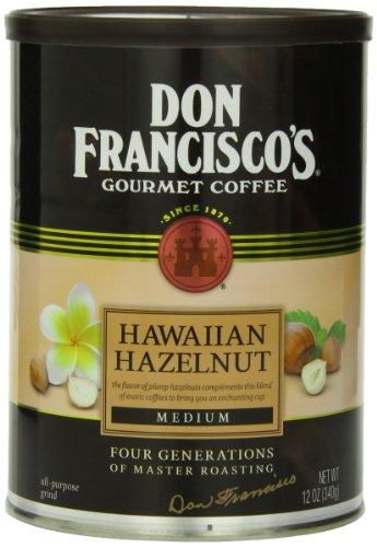 Don Francisco Hawaiian Hazelnut Coffee, 12 Ounce