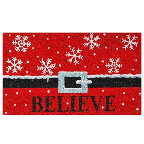 Calloway Mills 101811729 Believe Doormat, 17