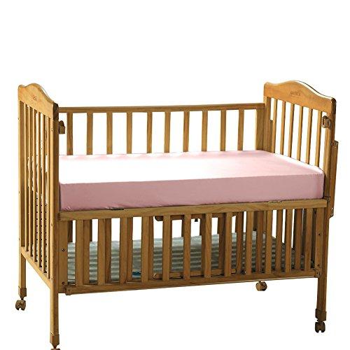 THXSILK Pure Silk Fitted Crib Sheets, Organic Crib Bedding-Ultra Soft, Smooth, 100% Top Grade Mulberry Silk, 28