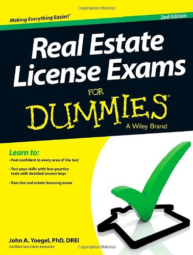 (Real Estate License Exams For Dummies)