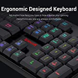 Redragon S107 Gaming Keyboard and Mouse Combo Large