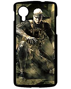 Hot Style Protective Case Cover For LG Google Nexus 5(Metal Gear Solid,game,epic,warrior,action) 8562299ZJ361084195NEXUS5 Naruto for Galaxy S5's Shop
