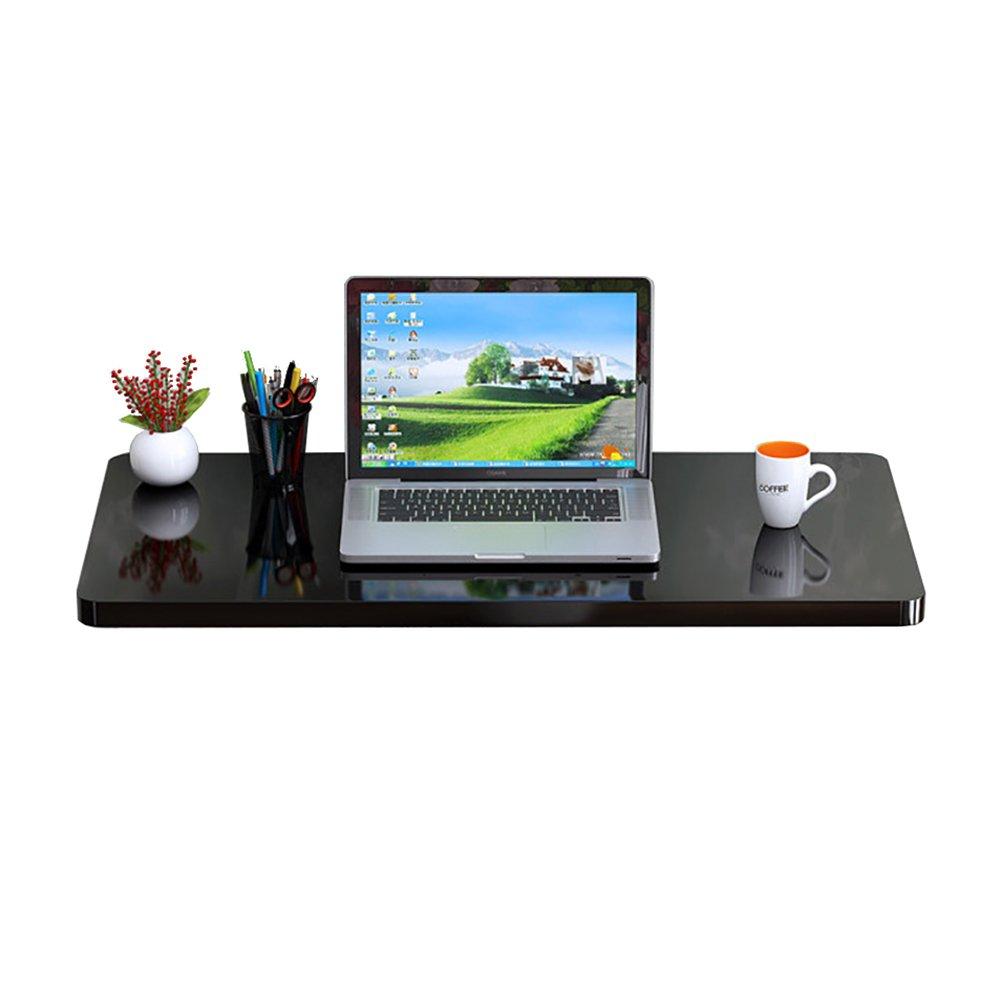 LXLA黒の折りたたみ式のテーブル壁掛け式の居間デスクの壁掛けのワークステーションキッチンの控えのオーガナイザーの研究コンピュータのテーブルフォールドダウン (サイズ さいず : 100×40cm) B07DXY5Z7W 100×40cm 100×40cm