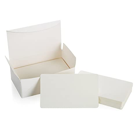 Blank Cardboard Paper Message Card Business Cards Vocabulary Word Card Index Cards Diy Gift Tags Card About 100pcswhite