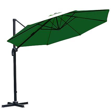 Картинки по запросу Farland Patio 11-Foot Offset Cantilever Outdoor Hanging Umbrella