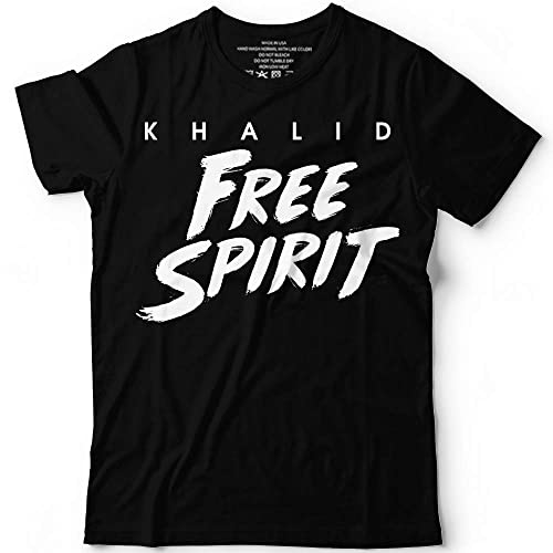 66ffcff89437c Image Unavailable. Image not available for. Color  Khalid Free Spirit World  Summer Tour 2019 Music Concert Customized Handmade T-Shirt ...