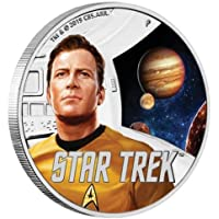 2019 TV Star Trek, Captain Kirk & Jupiter, Tuvalu Dollar Proof
