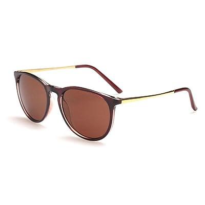 ce4a94e0cd16ca Alger Lunettes de soleil boîte carrée unisexe style vintage conduite voyage mode  lunettes , B