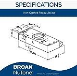 Broan-NuTone BUEZ230WW Broan Economy UC 190 CFM 30N