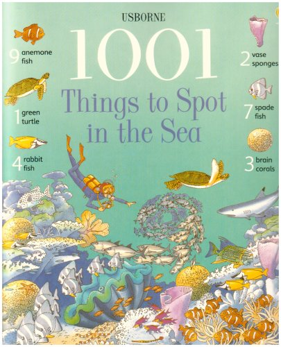Download 1001 Things to Spot in the Sea pdf