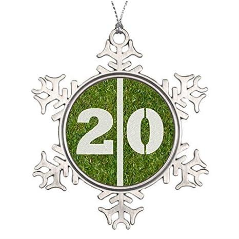 Adornos de Navidad copo de nieve personalizado árbol de ...