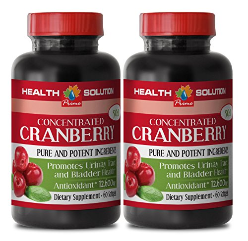 Resveratrol Natural Liquid Concentrate (Cranberry powder organic - CONCENTRATED CRANBERRY 50: 1 - urinary tract cleansing and support (2 bottles))