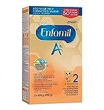 Enfamil A+ 2 Baby Formula, Powder Refill Box, 992g
