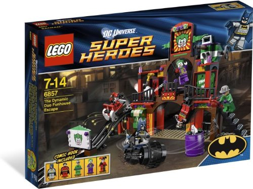 with LEGO DC Superheroes Minifigures design