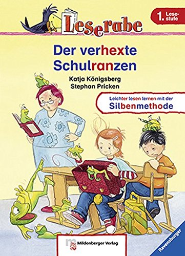 Leserabe – Der verhexte Schulranzen: Band 2, Lesestufe 1