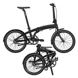 tern Verge Duo - Bicicletas plegables - negro 2015 Bicicletas plegables (7/8 velocidades)